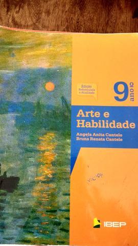 Livro 9 ano arte e habilidade edição  usado