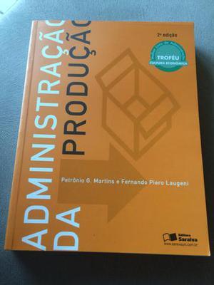 Livro ADMINISTRAÇÃO DA PRODUÇÃO - Petrônio e Fernando