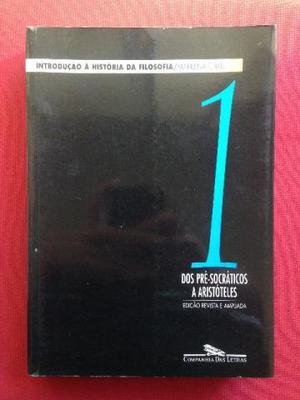 Livro - Introdução À História Da Filosofia - Volume 1