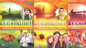 Livro de ingles OpenMind 1A,1B,2A e 2B