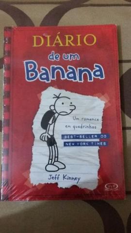 Livros, Diário de Um Banana 1, novo