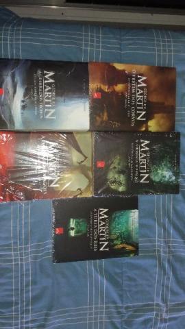 Livros Game Of Thrones - As Crônicas de Gelo e Fogo