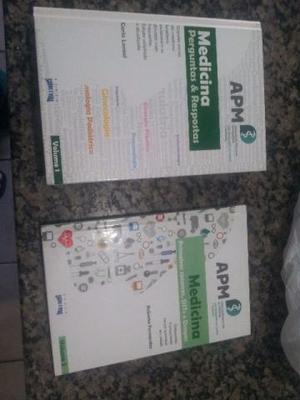 Livros Medicina Perguntas e respostas vol 1 e 2