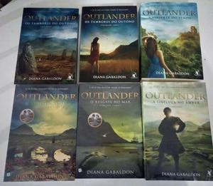 Livros Outlander (6 livros - Novos)