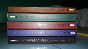 Livros Percy Jackson R$10