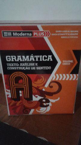 Livros de Gramática (box Moderna plus)