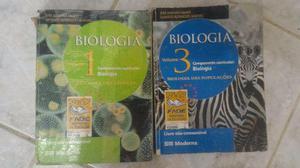 Livros de biologia do ensino médio