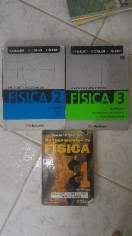 Livros de física para ensino médio completo