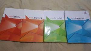 Livros de ingles New Interlink 1 e 2