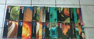 Livros didáticos - Editora Scipione, vol. 1 e 2 com livros