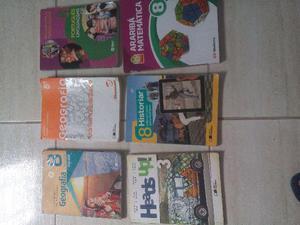 Livros do oitavo ano,50reais