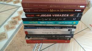 Lote de doze livros