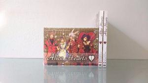 Mangá Alice Hearts vol.1 ao 3 - New Pop