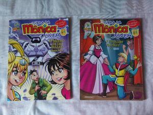 Manga Turma da Mônica Jovem n°8 e 9