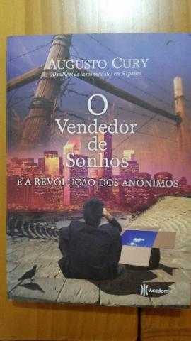 O Vendedor de Sonhos (A revolução dos anônimos - Livro