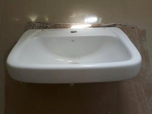 Cuba deca de semi encaixe branca  Posot Class -> Pia Banheiro Semi Encaixe
