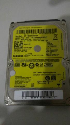HD de Notebook - 1TB