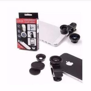 Kit Lente Olho De Peixe Universal Selfie