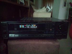 Receiver Sony STR-AV720 com controle remoto original, estado