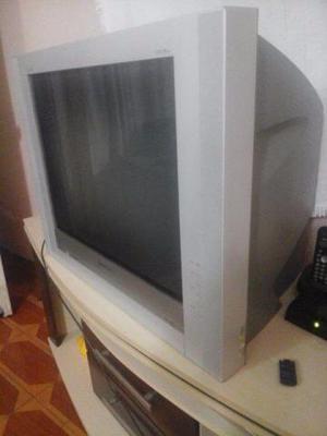 TV gradiente 29 super plana c/ função radio e controle