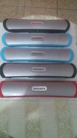 Caixa de som Bluetooth para celulares, notebook, PCs e