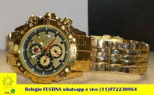 Relógio top preço promocional Modelo real da foto