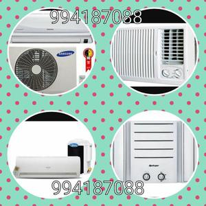 Instalação e desinstalação de ar condicionado Split e