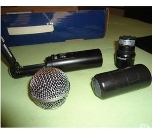 Microfone sem fio SHURE SLX SM58 (pouco uso)