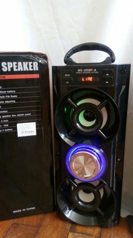 Novo Caixa de som via Bluetooth 20w