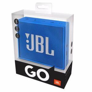 Caixa de Som Portátil JBL Go Wireless - preta e azul