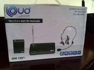 Microfone Sem Fio Loud WM-