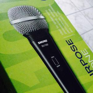 Microfone Shure modelo SV 100 semi-novo