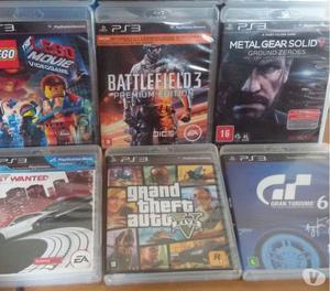 PS3 Slim 500GB seminovo completo + 12 jogos mídia física