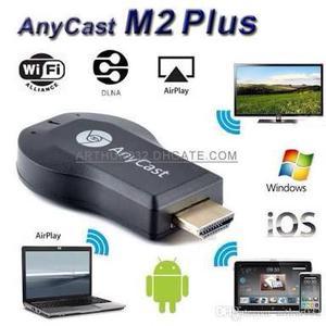 Transforme a TV em smart. Anycast