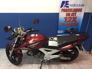 Honda CBX 250 Twister Único dono nota fiscal parcelo no
