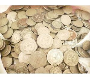 VENDE 50 QUILOS DE MOEDAS ANTIGAS R$10 O QUILO-S.P