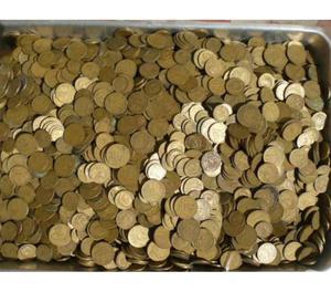 VENDO 50 QUILOS DE MOEDAS ANTIGAS R$500 TUDO-S.P