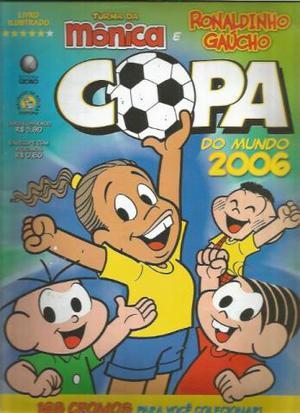 Brasil  álbum de figurinhas Turma da Mônica Ronaldinho