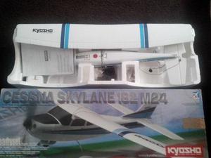 Cessna Skylane 182 Aeromodelo Kyosho completo na caixa