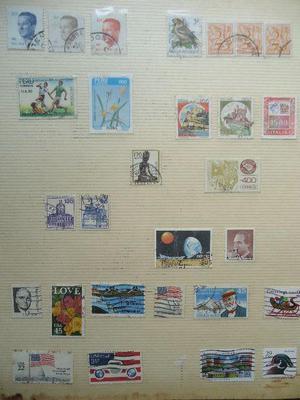 Coleção de selos Nacionais e internacionais