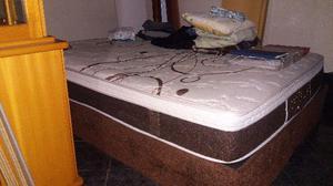 Conjunto Cama Box Casal Grande 160cm em 4x Sem Juros com