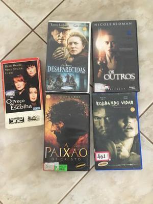 Fitas de VHS