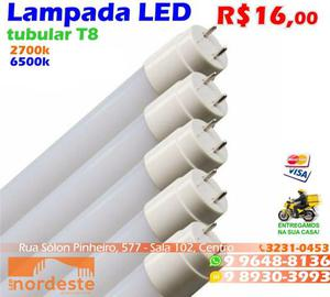 Lâmpada de Led Tubular T8