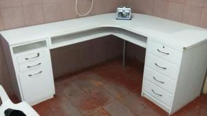 Muito Barbada - Mesa L pro seu escritório - Pra levar!!