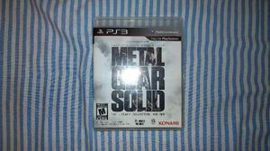 Playstation 3 Metal Gear Coletânea
