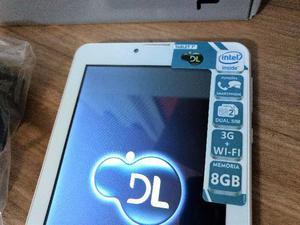 """Tablet 7"""" Marca DL, Processador Intel, Dual CHIP, Novo zero"""