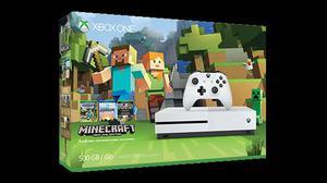Xbox One S com minecraft