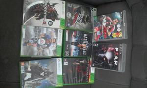Jogos Xbox 360 e PS3