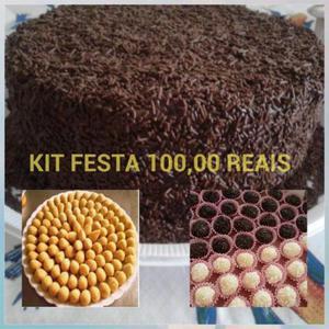 Promoção Kit Festa com Entrega Grátis Aproveite,