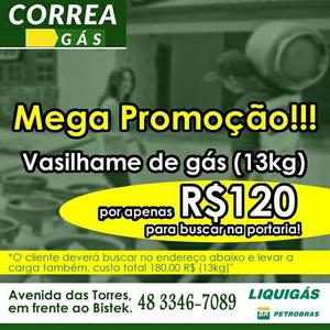 Serviço de tele-entrega de gás e água na região de São